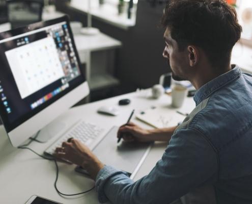 Erstellung von Druckdaten im Layout- und Grafik - Büro