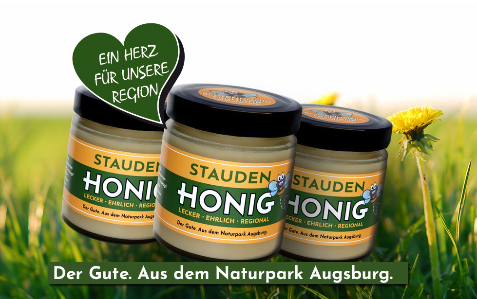 Honig Etikett gestalten und drucken lassen | Imkerei Werbemittel von Weiss Media Solution